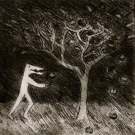 The Poison Tree, etching